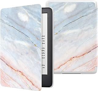 ATiC NEW Kindle Newモデル ケース Kindle 第10世代 2019用 軽量 薄型 保護カバー 耐久性 耐衝撃 落下防止 オートスリープ機能付き Marble