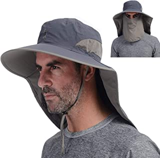 hats that cover face