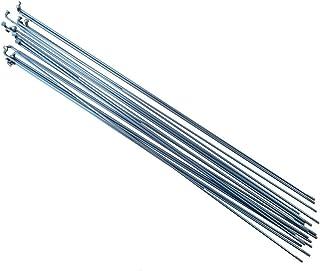 Pillar P14/Lot de 18 rayons pour v/élo en acier inoxydable longueur: 252/mm/ /296/mm Noir