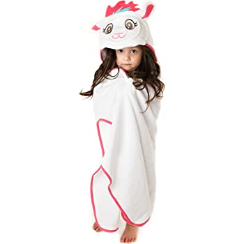 Ultra Soft and Extra Large Little Tinkers World Premium Hooded Towel for Kids 100/% Cotton Bath Towel with Hood for Girls or Boys Lion Design