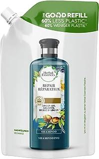 Herbal Essences Ripara, Shampoo con Olio di Argan Del Marocco, Ricarica con il 60% in Meno di Plastica, 480ml