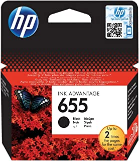 Hp Cz109ae 655 Black Ink Advantage Cartridge