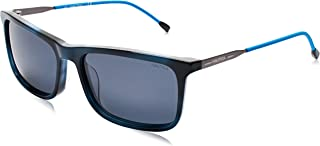 نظارة شمسية للرجال من نوتيكا، اسود، 57 ملم - N6239S