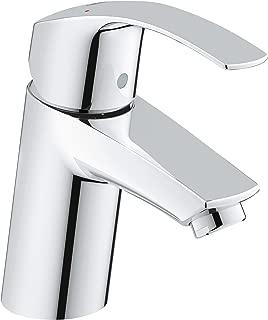 Eurosmart New S-Size Single-Handle Single-Hole Bathroom Faucet Without Pop-Up - 1.2 GPM