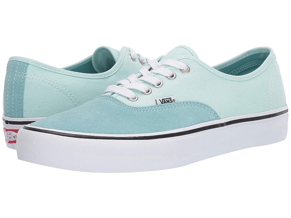 e79505061b Vans Authentictm Pro (Aqua Haze Soothing Sea) Men s Skate Shoes