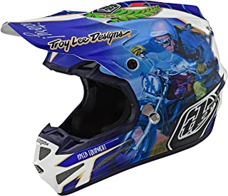 Troy Lee Designs SE4 Malcolm Smith MIPS Motocross Helm XL