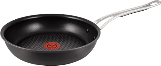 Tefal Jamie Oliver Premium Hard Anodised Induction H902S244 Twin Pack 24 & 28cm Frypans with Ultra Resistant Titanium Coating