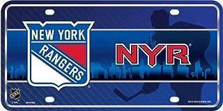 Smart Blonde New York Rangers NHL Embossed Novelty Vanity Metal License Plate Tag Sign - 7002M