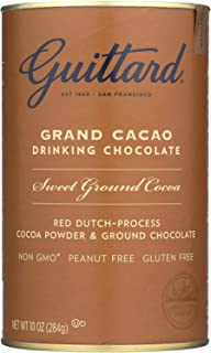 Guittard Grand Cacao Drinking Chocolate, 10 Ounce - 6 per case.