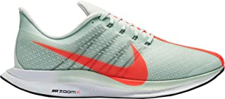 Men's Air Zoom Pegasus 35 Turbo Running Shoes,(Grey/Red/Orange,13 D (M) US)