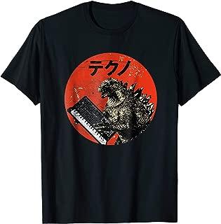 Vintage Analog Synthesizer - Japanese Retro Monster T-Shirt