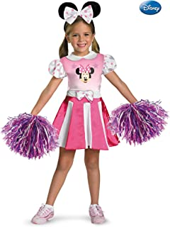 Minnie Mouse Cheerleader Costume-Small (4/6x)