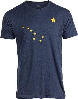Alaskan Flag | Alaska Pride Northern Lights Big Dipper Polaris Men Women T-Shirt