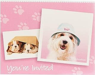 BirthdayExpress Rachael Hale Glamour Dogs Party Supplies - Invitations (8)