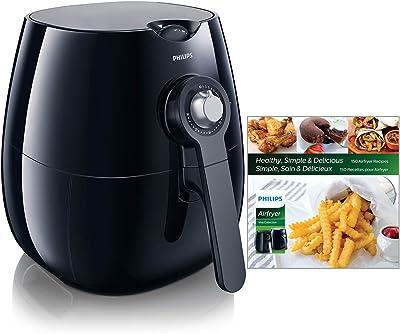 Philips Kitchen Appliances HD9220/28 Viva Airfryer (1.8lb/2.75qt), Black Fryer
