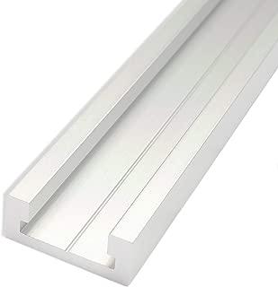 POWERTEC 71167 Aluminum Miter T-Track, 48-Inch