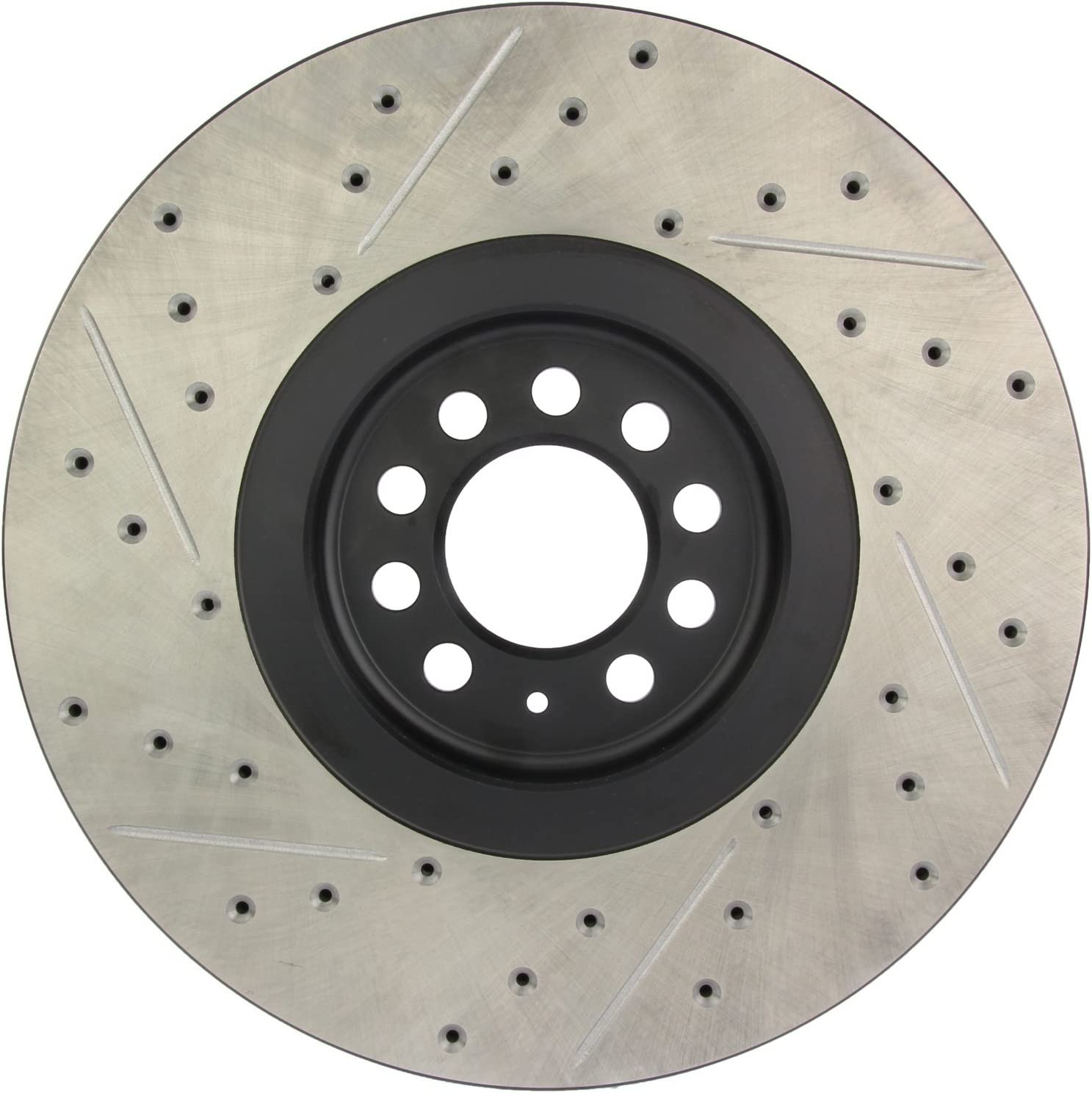StopTech 127.33094L Sport Drilled 激安特価品 Slotted お得クーポン発行中 Front Lef Rotor Brake