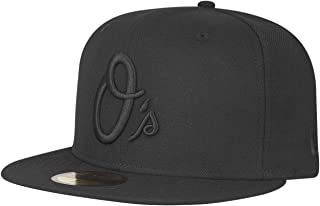 New Era Baltimore Orioles Black on Black Cap 59fifty 5950 Fitted Special Limited Edition
