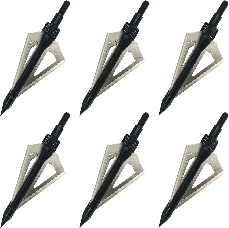 Archery Broadheads Hunting 3 Arrowhead Blade Gerling 100 depot Las Vegas Mall