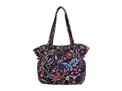Vera Bradley Iconic Glenna Satchel (Foxwood) Bags
