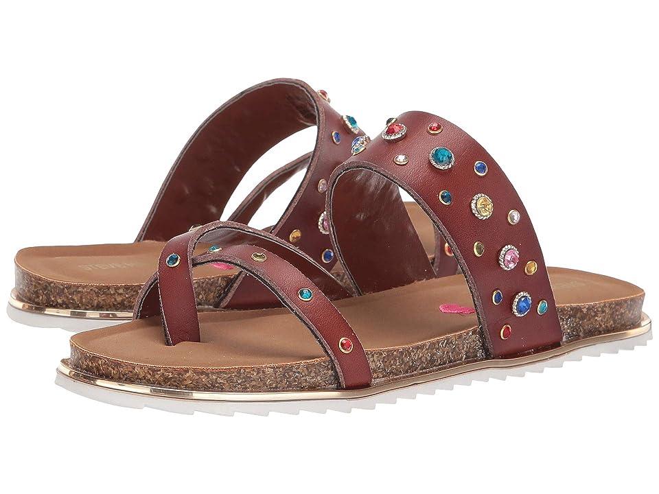 Steve Madden Kids Jslueth (Little Kid/Big Kid) (Cognac Multi) Girls Shoes