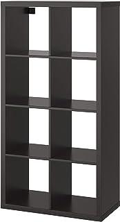 قفسه IKEA KALLAX ، قهوه ای سیاه