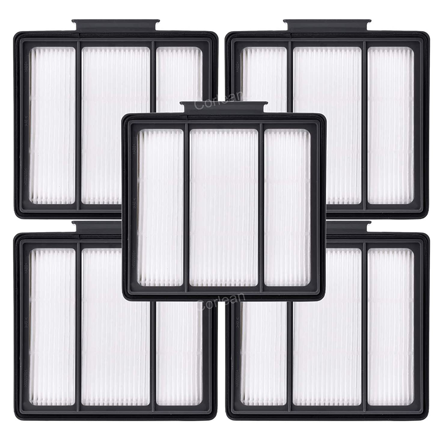 5 Pack Hepa Filters Replacement for Shark ION Robot R85(RV850 & RV850BRN), R71(RV700_N), R72(RV720_N), R75(RV750_N), S86(RV850WV), S87(RV851WV) Vacuum Cleaner