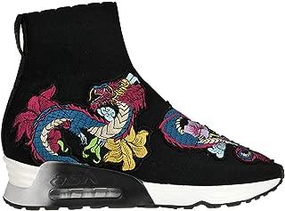 ASH Luxury Fashion Womens MCGLCAK000006076I Black Slip On Sneakers | Season Outlet