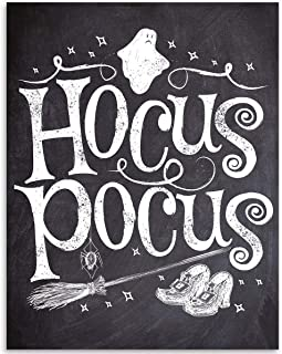 Hocus Pocus Halloween - 11x14 Unframed Art Print - Makes a Great Gift Under $15 for Halloween Decor