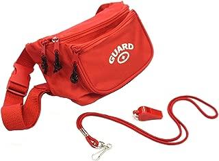 Adoretex Guard Fanny Pack Whistle Lanyard Equipment Set