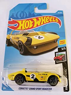 Hot Wheels 2019 Hw Roadsters 3/5 - Corvette Grand Sport Roadster (Yellow)