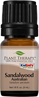 Plant Therapy Sandalwood Australian Essential Oil 100% Pure, Undiluted, Natural Aromatherapy, Therapeutic Grade 5 mL (1/6 oz)