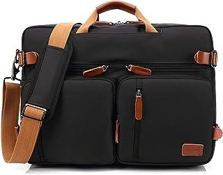 Bolso de hombro CoolBELL convertible en mochila para guardar ordenadores portátiles. Maletín de negocios multi funcional. ...