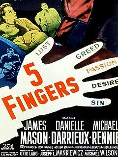 5 fingers 1952 film