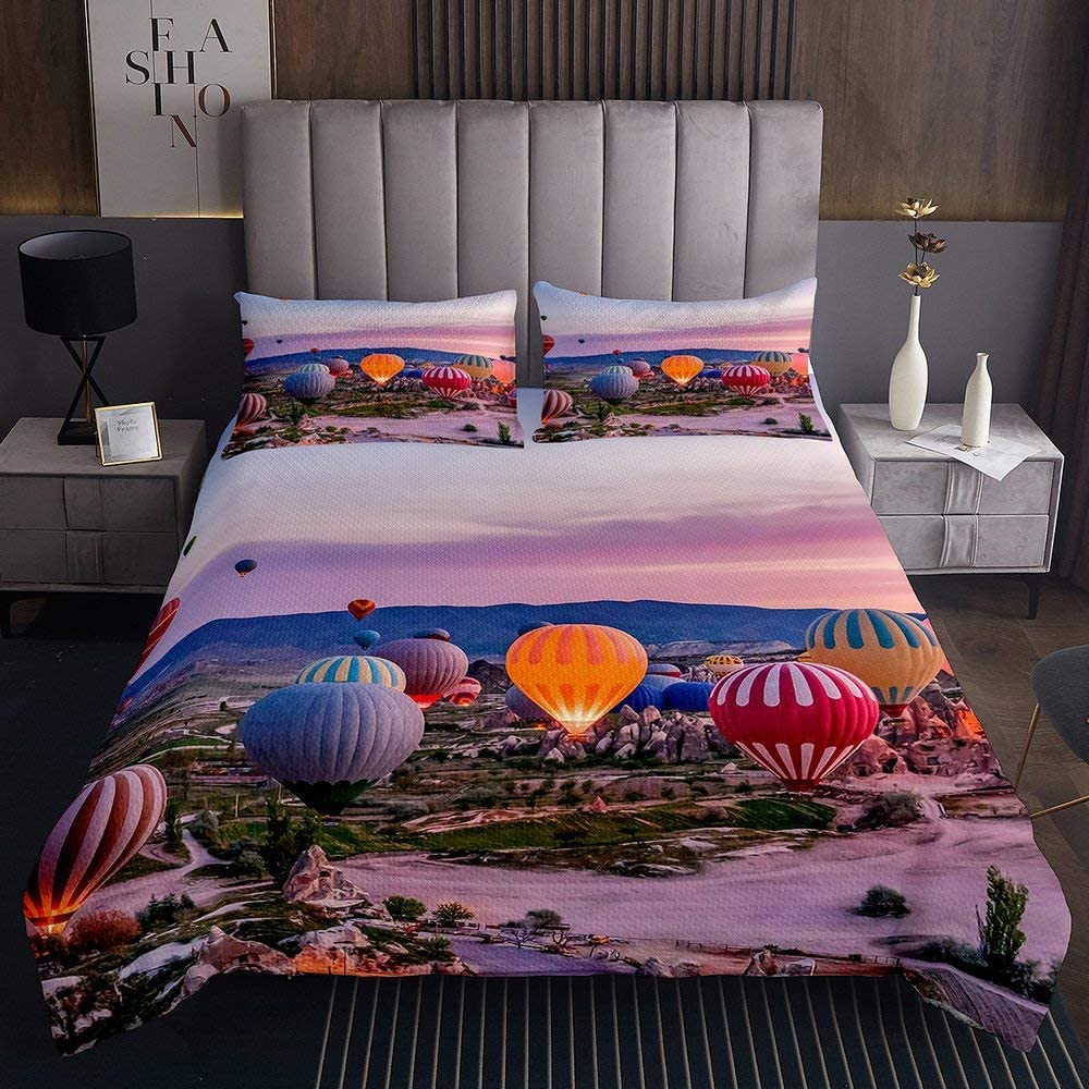 Bedding Set Same day shipping for Girls Children adult High quality Printing Modern 3D Air Hot