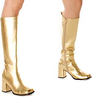 fd3836ed652 Amazon.com: Gold - Knee-High / Boots: Clothing, Shoes & Jewelry