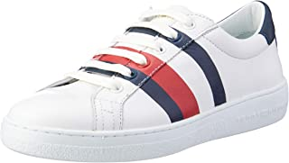 TOMMY HILFIGER Women's Signature Tape Trainers Signature Tape Trainers
