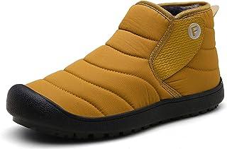 CERYTHRINA حذاء شتوي ثلج للكاحل بطانة فرو مقاوم للماء في الهواء الطلق الانزلاق على أحذية رياضية للنساء والرجال