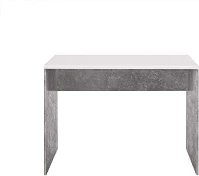 Ragaba MIMO - Escritorio Grande (105 x 40 x 75 cm), Color Blanco ...
