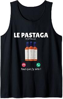 Le Pastaga M'appelle Cadeau Humoristique Alcool Pastis Apéro Débardeur