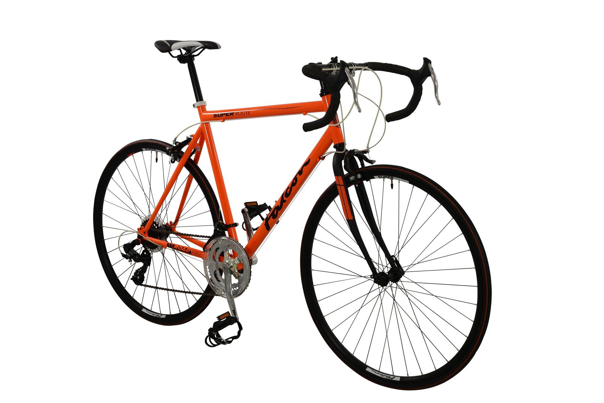 Falcon - Bicicleta de súper Ruta para Hombre, Color Rojo, Talla 12 ...