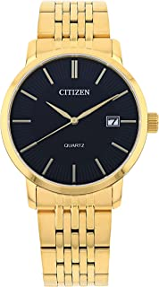 ساعة يد انالوج بعقارب بحركة كوارتز للرجال مع امكانية عرض التاريخ من سيتيزن - DZ0042-55E