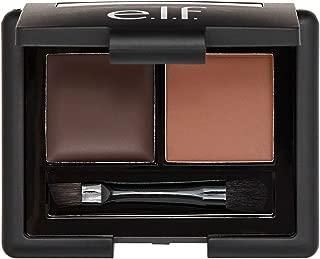 e.l.f. Eyebrow Kit, Powder & Wax Formula, Dark, 0.13 oz.