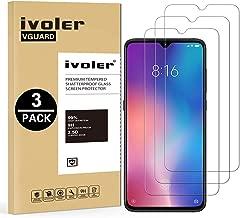 VGUARD [3 Pack] Pellicola Vetro Temperato per Xiaomi Mi 9 SE [Garanzia a Vita], Pellicola Protettiva Protezione per Schermo per Xiaomi Mi 9 SE