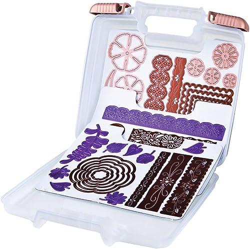 Caja de almacenamiento para coche organizador peque/ño 2 unidades Maso color crema