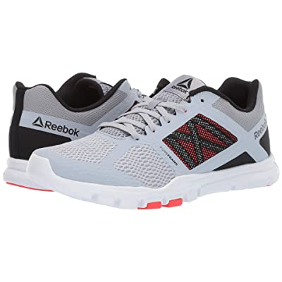 Reebok Yourflex Train 11 MT (Cold Grey/Cool Shadow/Black/White/Neon Red) Men