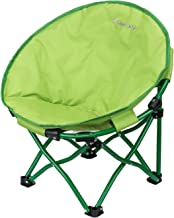 KingCamp Moon Saucer Chair Cute Round Mini Size Ultralight Portable Compact Folding with Safe Lock for Camping Picnic Outdoor with Carry Bag