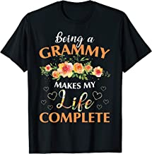 Being A Grammy Makes My Life Complete T-shirt