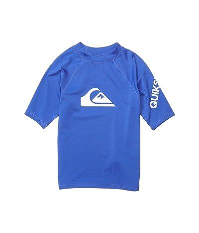Quiksilver Kids All Time Short Sleeve (Toddler/Little Kids) (Dazzling Blue) Boy