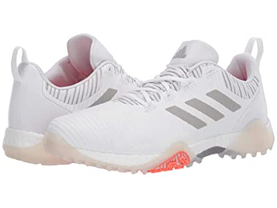 adidas Golf Codechaos (Footwear White/Crystal White/Grey) Men